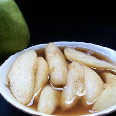 Maple Grilled Pears With Brown Sugar and Cinnamon