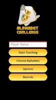 Screenshot of Alphabet Challenge