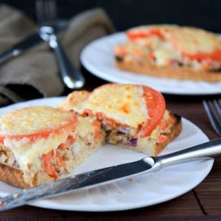 Open-Face Hummus Tuna Melt