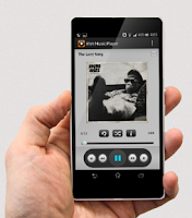 Screenshot of iYah Music Player