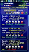 Screenshot of Lottery Xpress Powerball