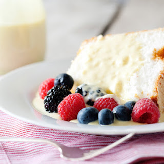 Dessert With Creme Anglaise Recipes