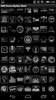 Screenshot of ADWtheme StyGian Black