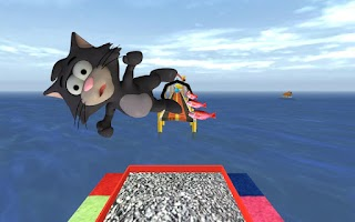Screenshot of Tiny Cat Run: Running Game Fun