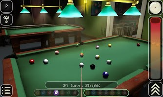 Screenshot of 3D Pool game - 3ILLIARDS Free