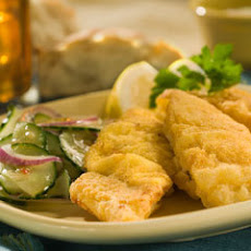 Fried Catfish With Cucumber Slaw
