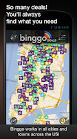 Screenshot of binggo deals offers & coupons