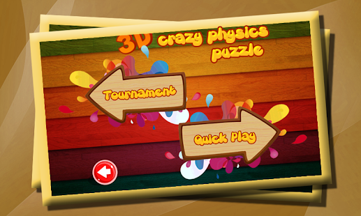 3D Crazy Physics Puzzle- screenshot