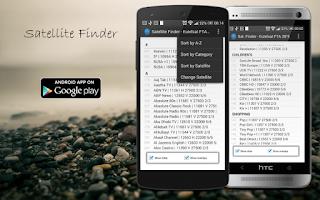 Screenshot of Satellite Finder