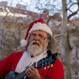 Santa... by Bojan Bilas - People Street & Candids ( santa, street, people, portrait, city )