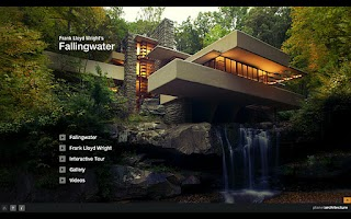 Screenshot of F.L. Wright – Fallingwater HD