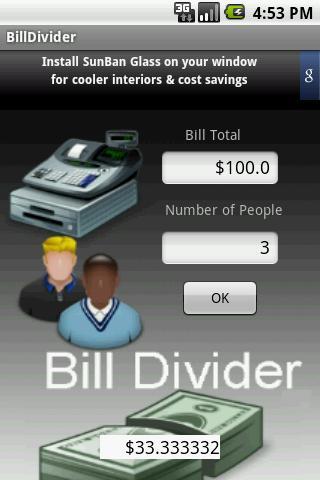 BillDivider Free