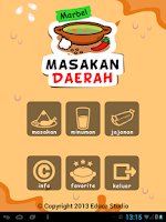 Screenshot of Marbel Masakan Daerah