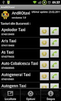 Screenshot of AndROtaxi
