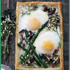 Spring Breakfast Tart