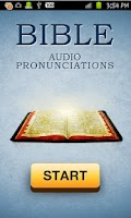 Screenshot of Bible Audio Pronunciations