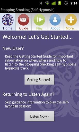 Stop Smoking Self Hypnosis