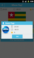 Screenshot of Guess Flags