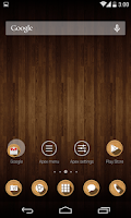 Screenshot of Wood Theme