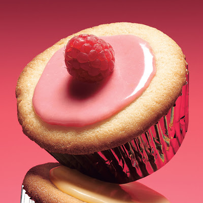 Lemon-Raspberry Cupcakes