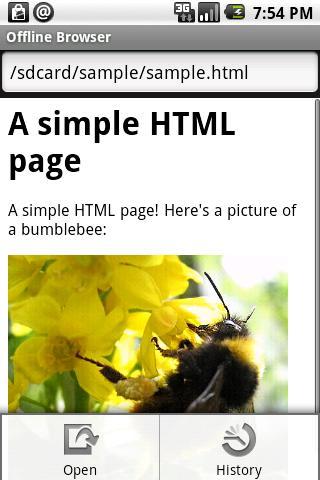 Offline Browser