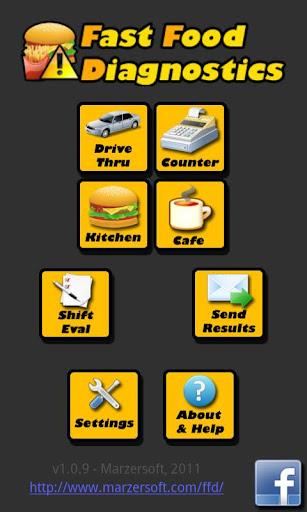 Fast Food Diagnostics