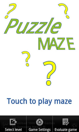 Puzzle Maze 무한미로찾기
