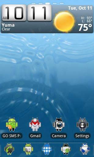 Androidified GO Theme Free
