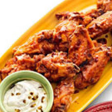 Three-Alarm Mexican Wings