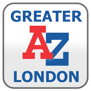 Cover art Greater London A-Z Map by Zuti