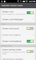 Screenshot of Android4.0 Colorful Locker