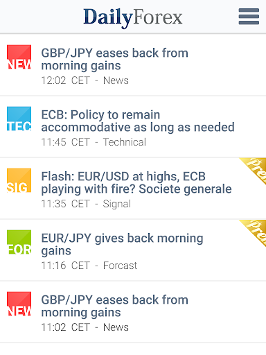 Forex Signals, Analysis & News - screenshot