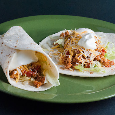 Three-Chili Chicken Tacos
