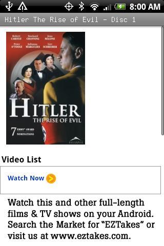 Hitler The Rise of Evil Movie
