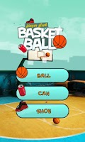 Screenshot of Finger Flick Basketball 3D