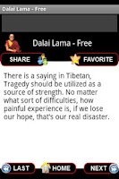 Screenshot of Dalai Lama Wisdom - Free