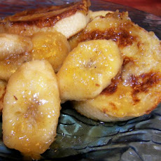 French Toast With Rum Bananas