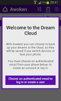 Screenshot of Awoken - Lucid Dreaming Tool