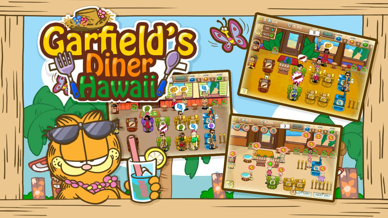 Garfield's Diner Hawaii Screenshot 11