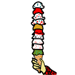 Tower of Ice Cream