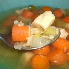 Chicken, Rice and Vegetable Soup