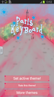 Screenshot of Paris Keyboard Theme