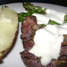 Bleu Cheese Beef Tenderloin