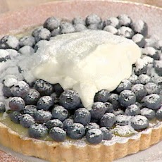 Lemon Curd Tart with Fresh Blueberries