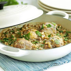 Braised Chicken & Beans