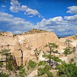 Tent Rocks, NM by Angela Gregory - Landscapes Mountains & Hills