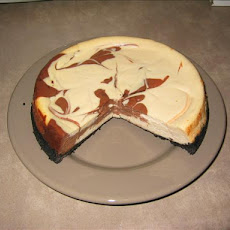 Bailey's Marbled Cheesecake
