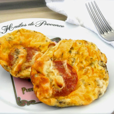 PEPPERONI QUICHE MUFFINS