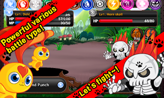 Screenshot of TAMAGO Monster Battle Dungeon