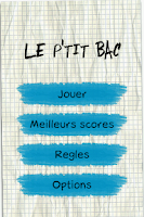 Screenshot of Le P'tit Bac (Nouveau)